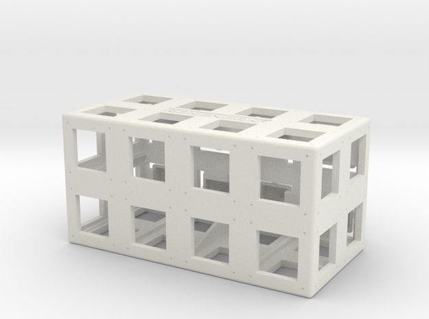 Rokenbok 2x4 ROK Block in White Strong & Flexible