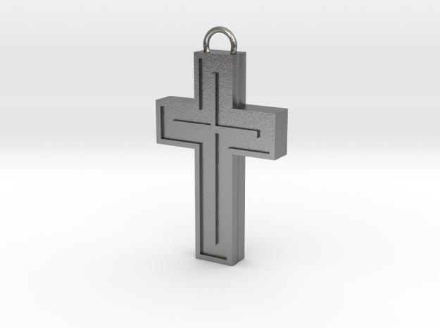 Silver Cross 3d printed