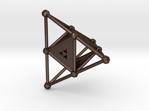 4-Sided Dice - Standard (2.5cm) 3d printed