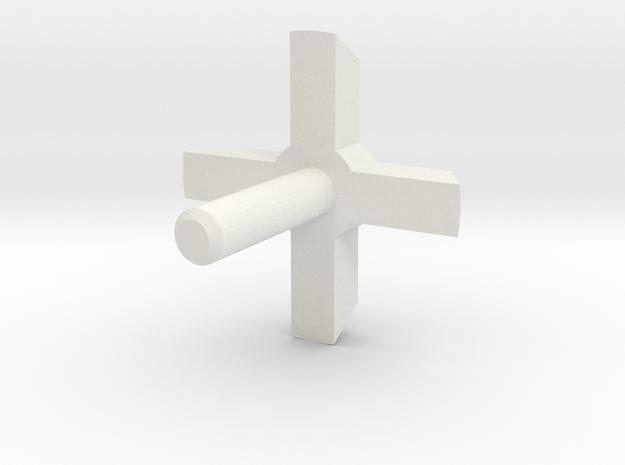 MBPI-A753-QUA2 in White Strong & Flexible