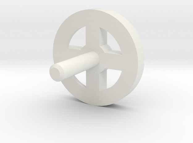MBPI-A753-QUA in White Natural Versatile Plastic
