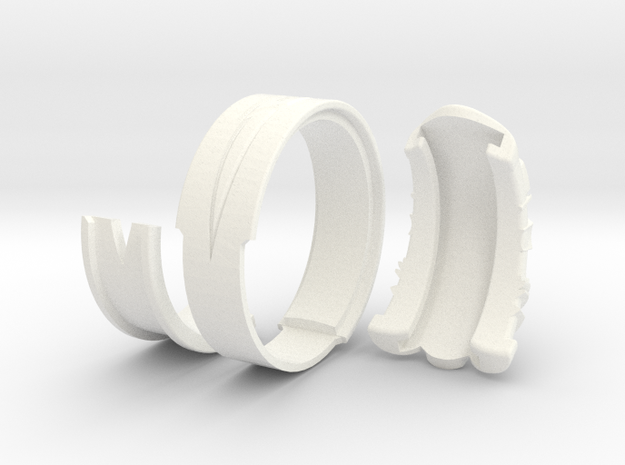 Vambrace Ring 10 3d printed