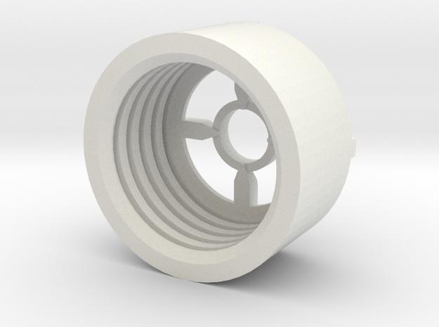 MBPI-B11-QUO in White Natural Versatile Plastic