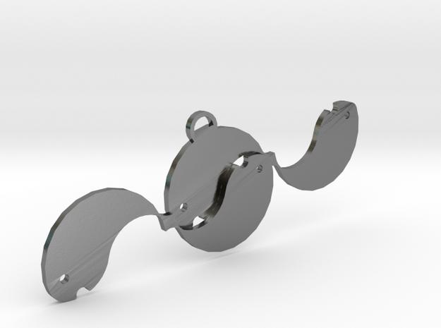 Fish Earring1 3d printed