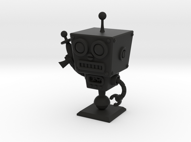 Cafe 51 - Sci-Fi Robot with Simple Base 3d printed