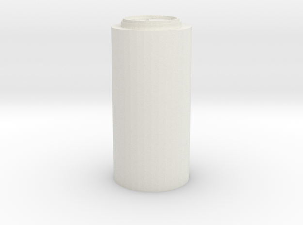 CT Blade Plug (repaired) in White Natural Versatile Plastic