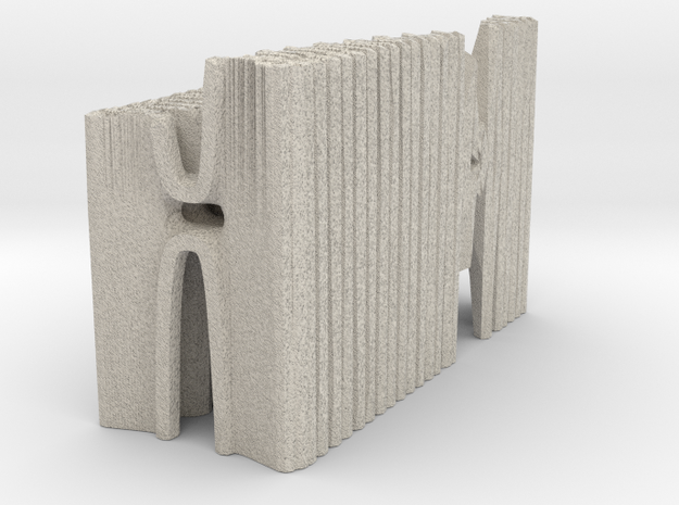 Hybrid Cathedral - Tessellate A+D  in Sandstone