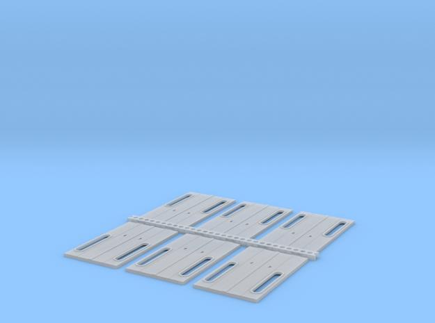 Eit päätyovi kapea 2 ikkunainen 6 kpl. in Smooth Fine Detail Plastic