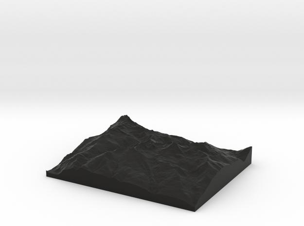 Model of Aosta 3d printed