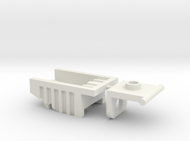 Kreon Addon - Dump Truck Bed in White Strong & Flexible