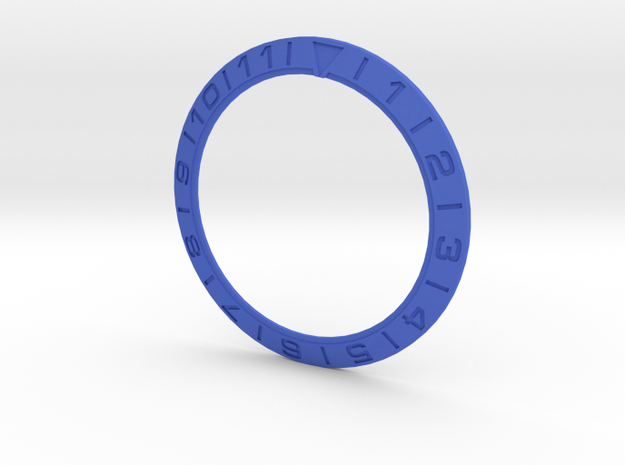 5 Omega Bezel New Fonts Microexted Font 140823 in Blue Strong & Flexible Polished