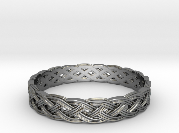 Hieno Delicate Celtic Knot Size 6.5 in Premium Silver
