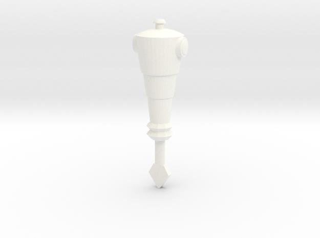 Hordakarmdrill in White Processed Versatile Plastic