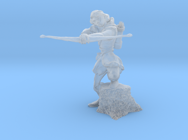 Archer 28mm No Base in Smooth Fine Detail Plastic