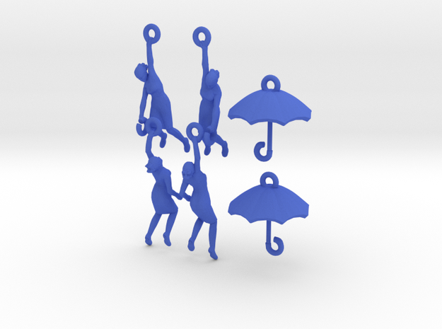 earring set: Umbrella girls