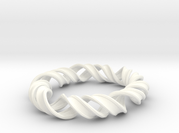 Bangle_structure_of_DNA 3d printed