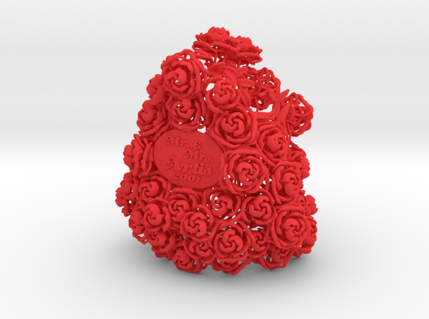 Bouquet - Champagne / Wine Bottle Sleeve 3d printed