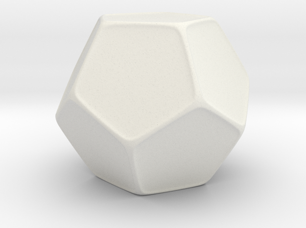 Blank D12 Honeycomb 3d printed