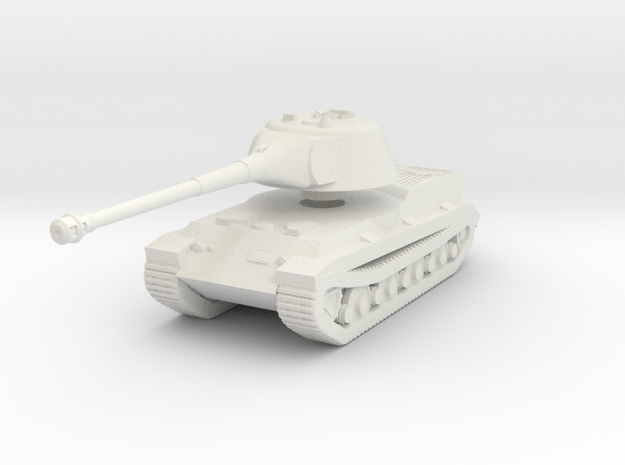 Löwe Tank (1 285th) in White Natural Versatile Plastic
