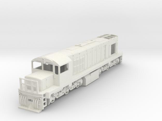 Tranzrail DQ 1:64 (S Scale) in White Natural Versatile Plastic