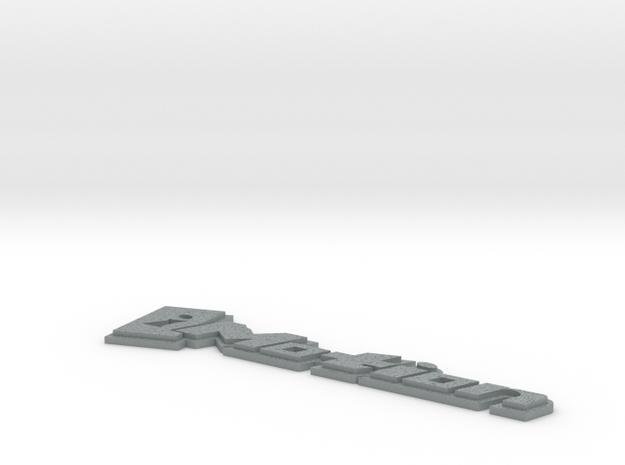 IMotionCarBadge.stl 3d printed