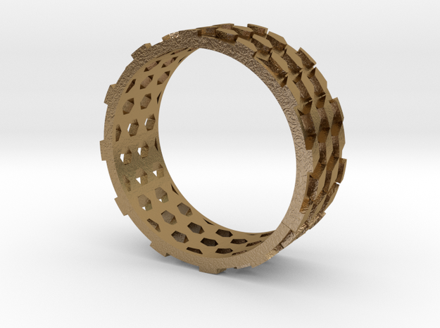 Parquet Deformation Ring (60mm) 3d printed