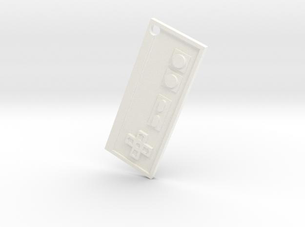 Nes Necklace Pendant 3d printed