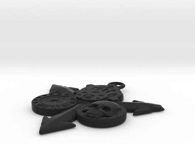 Nurgle Pendant (Large) 3d printed
