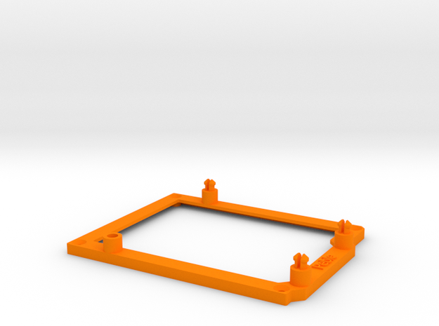 Low desktop stand for Arduino Duemilanove 3d printed