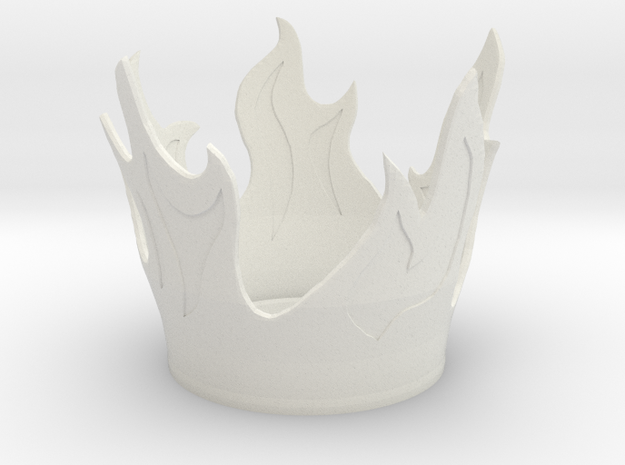 Flame Candle Holder 3d printed