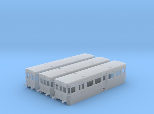 British Rail BUT ACV Railbus Set (N Gauge) in Smooth Fine Detail Plastic