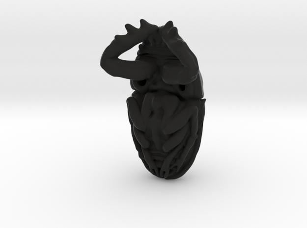 Scarab Beetle - Pendant 3.8 - style 4 3d printed