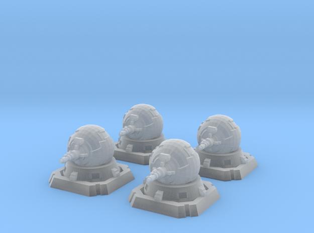 4x Rebel Turbolaser 3d printed