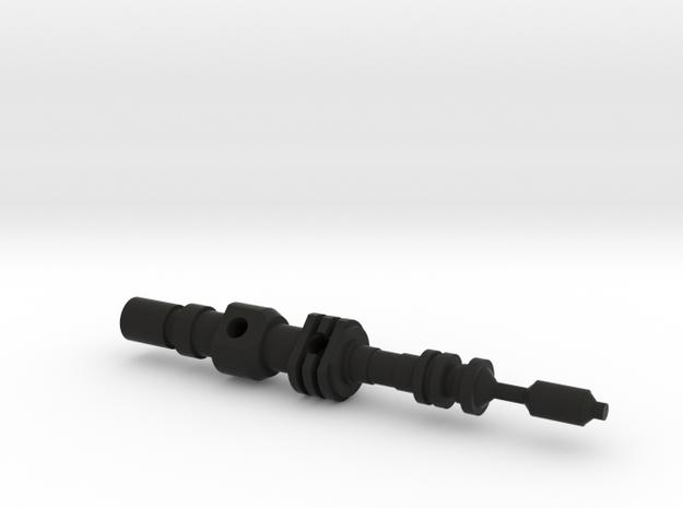 Hand Piston in Black Natural Versatile Plastic