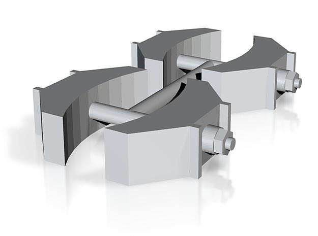 Bremsbacken Druck (repariert) 3d printed