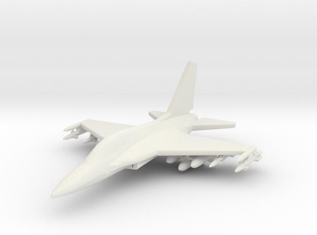 1/285 (6mm) Korean A-50 w/Ordnance in White Natural Versatile Plastic