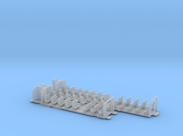 Inneneinrichtung Interex 1. Klasse FUD TT 1:120 3d printed