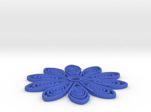45mm smaller tos insignia starfleet flower 3d printed