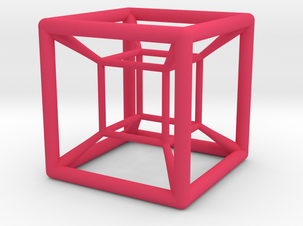 hypercube variatio 3d printed