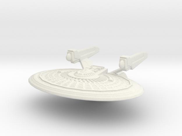 Kongo Class Cruiser in White Strong & Flexible