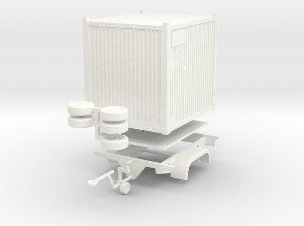Oelwehr Anhaenger in White Processed Versatile Plastic