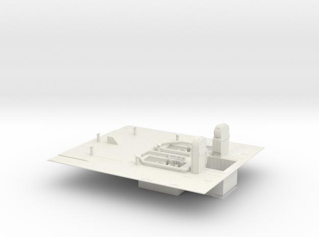 1/144 Shuttle MLP - deck only in White Natural Versatile Plastic