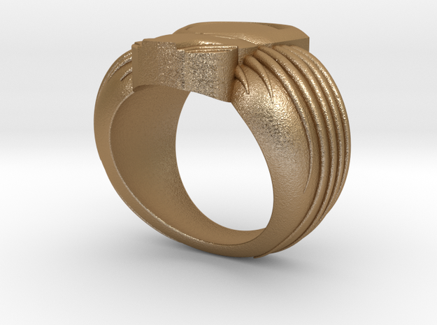 Predator Ring 3d printed