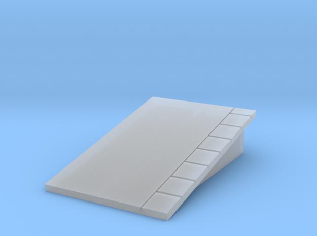 Platform Ramp - Left Hand - T 1:450 3d printed