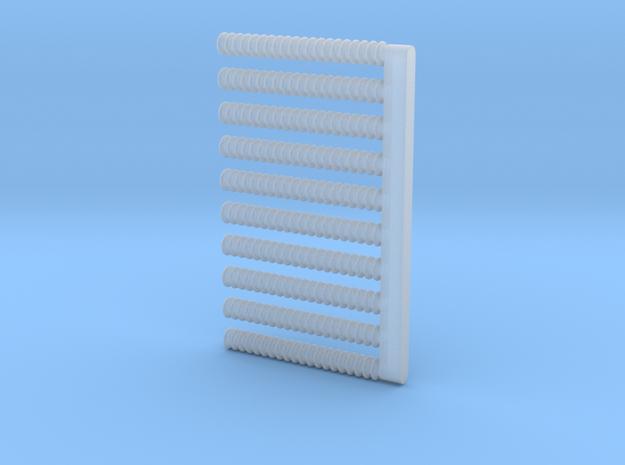 10 Isolatoren D 1,0x8 in Smooth Fine Detail Plastic