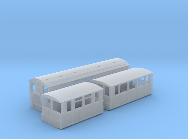 WCPR Railbus Pack (N Scale) in Frosted Ultra Detail