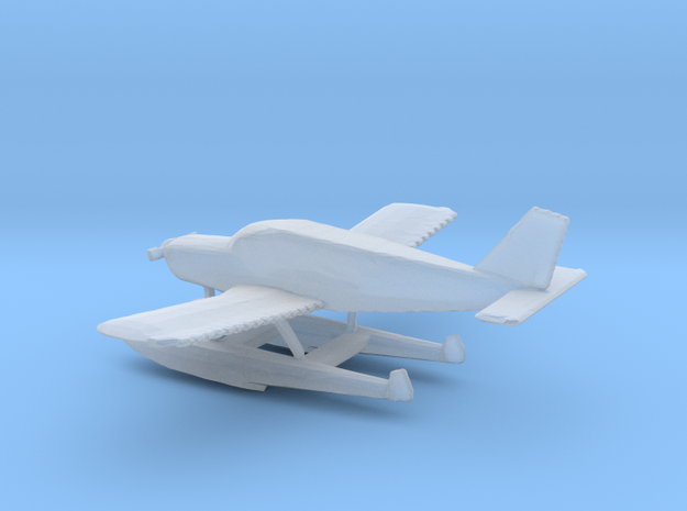1:400 Piper PA28 Cherokee Floatplane in Smooth Fine Detail Plastic