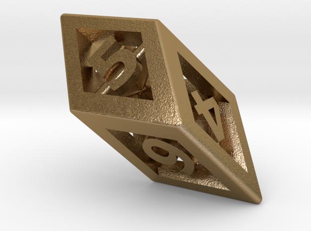 Crystal Dice Pendant 3d printed