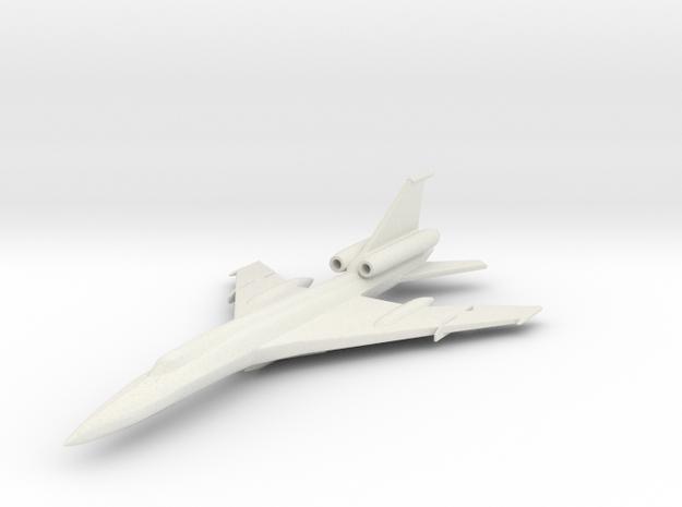 1/285 (6mm) TU-22 Blinder  in White Natural Versatile Plastic