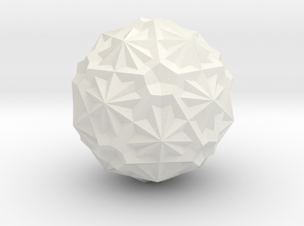 six pentagon dodekas in White Strong & Flexible